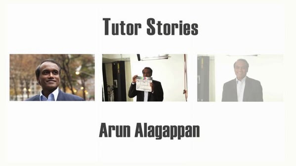 Founder and Director Arun Alagappan on Tutoring