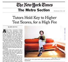 Tutors Hold Key to Higher Test Scores, for a High Fee