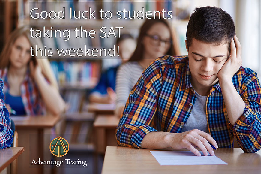 Wishing great results for all students taking the January SAT!