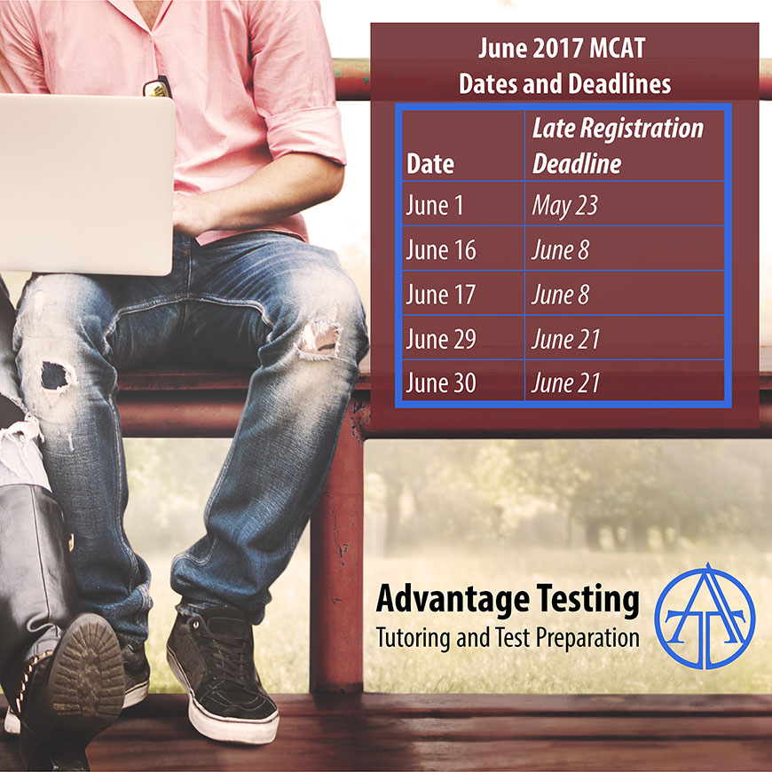 Check out the June MCAT dates