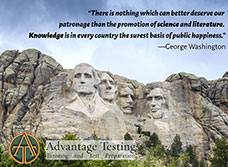 Advantage Testing wishes everyone a happy Presidents' Day!