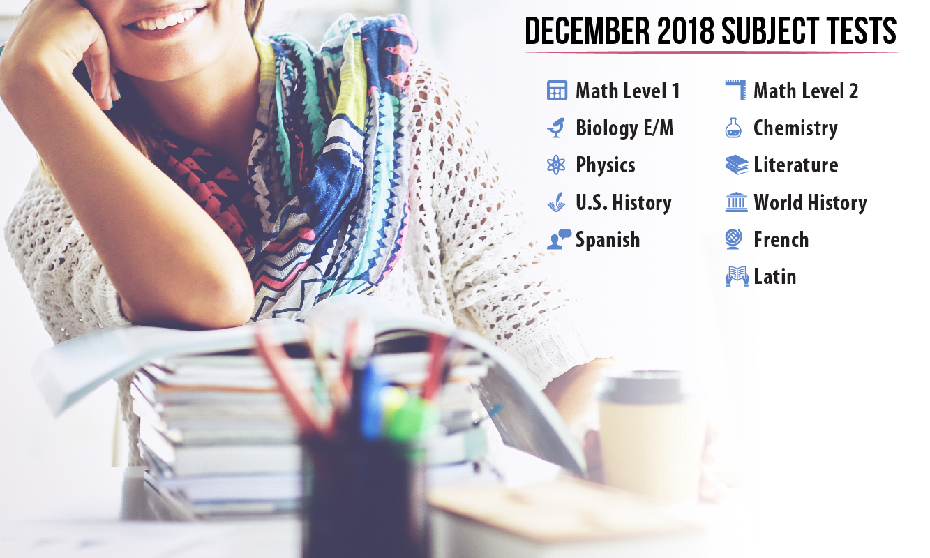 The December SAT Subject Tests are approaching