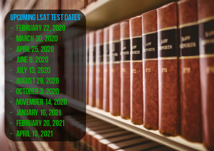 Attention LSAT students: The 2020-2021 LSAT dates were recently released by LSAC