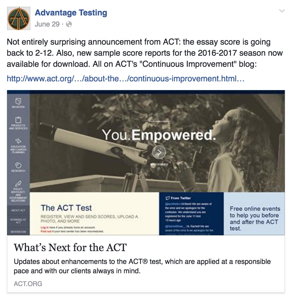 act writing scores Get a peek at a sample act essay prompt and learn how to  take a look at a sample act writing prompt and learn five key steps to  better test scores,.