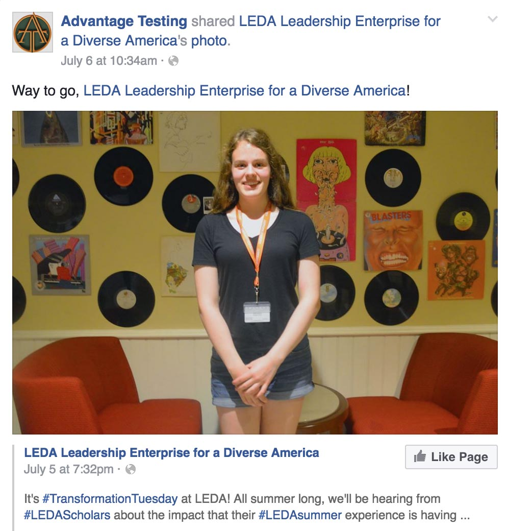 Another Summer at LEDA is Underway!