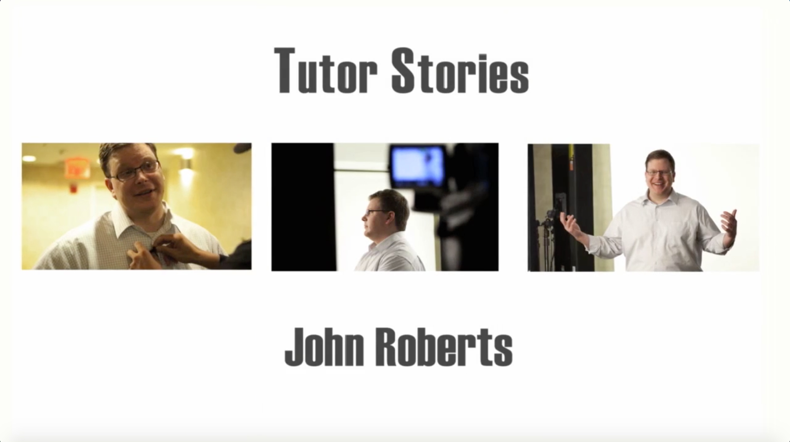 Watch Associate Director John Roberts discuss his commitment to LEDA.