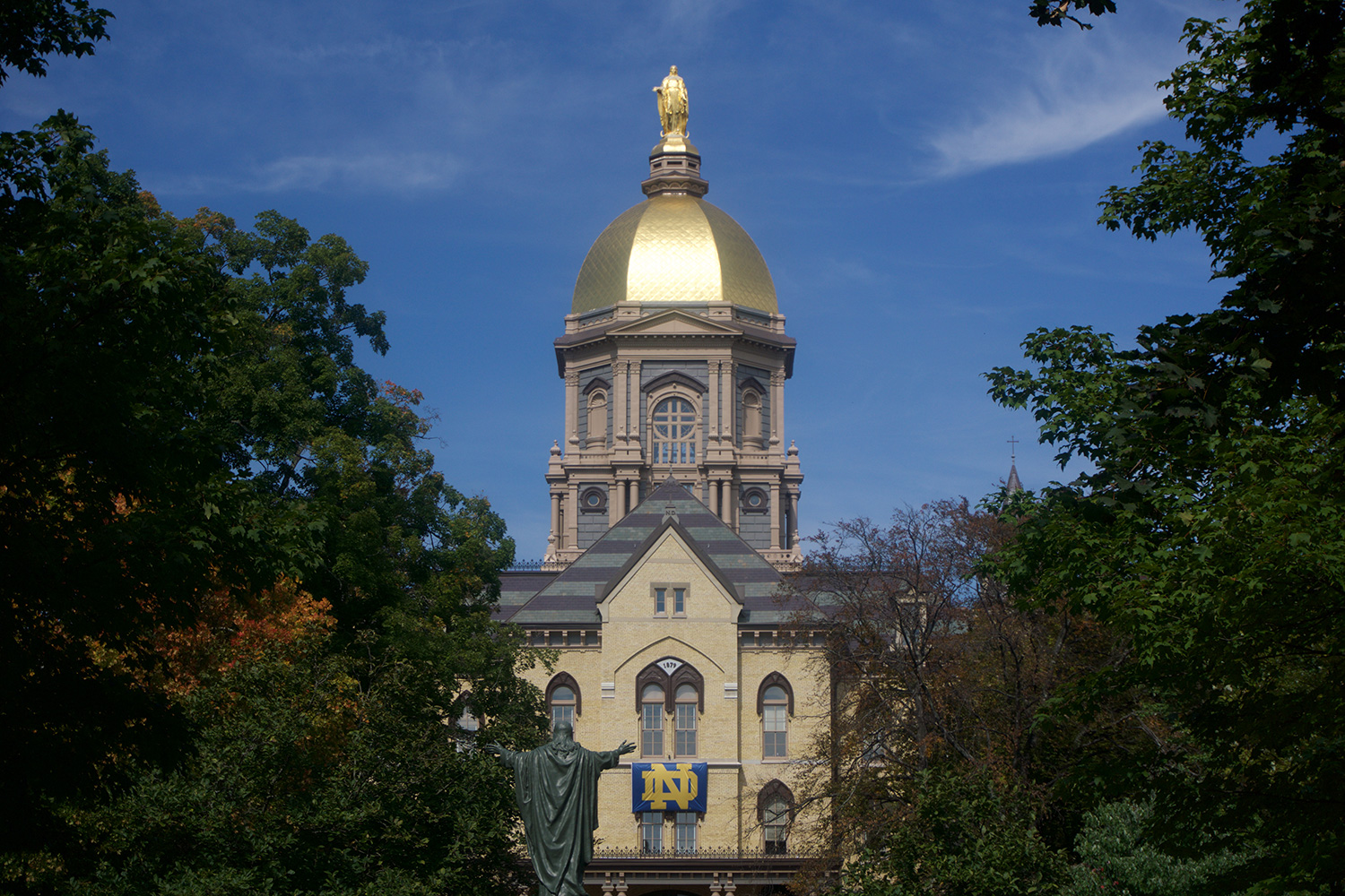 Notre Dame Law School will now accept the GRE or LSAT for admission